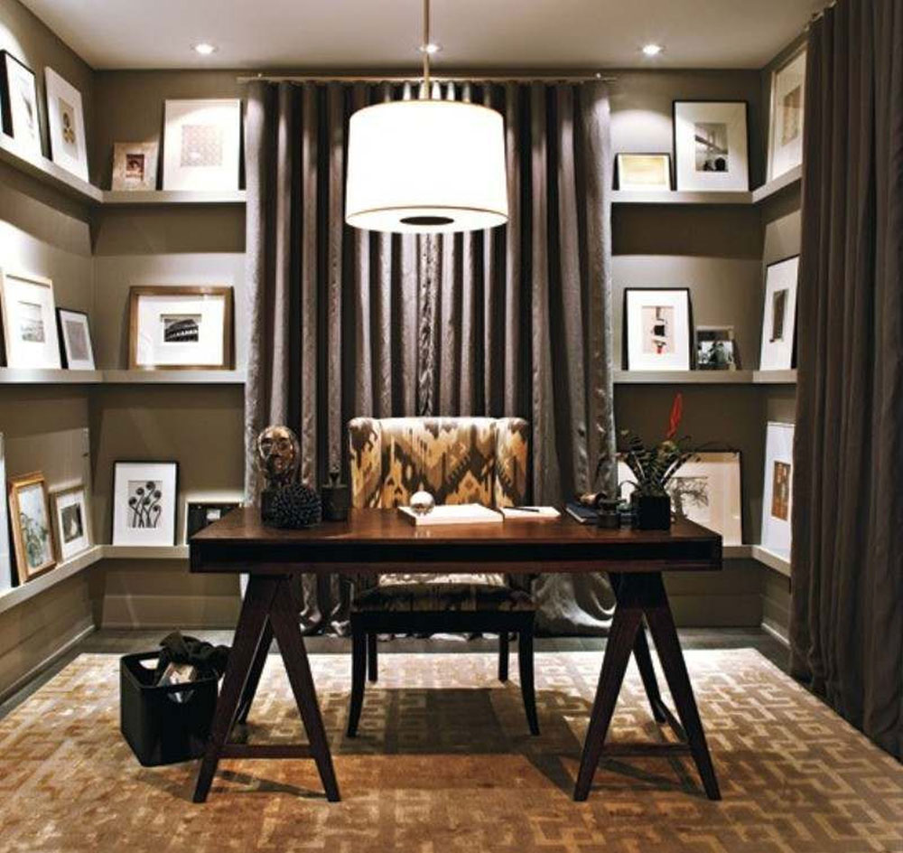 great home office. greathomeofficedesignideasforthework great home office