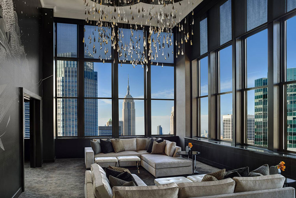 New York Interior Design Living Room Examples With