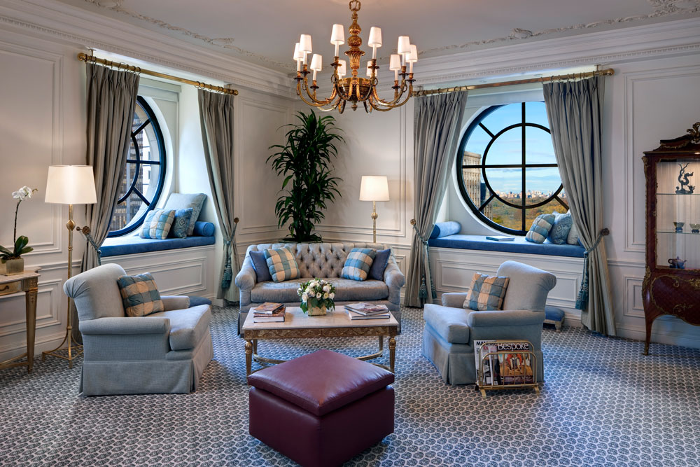 new york interior design living room examples with sleek