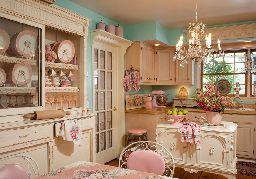 Vintage Kitchen Interior Design Examples (10)