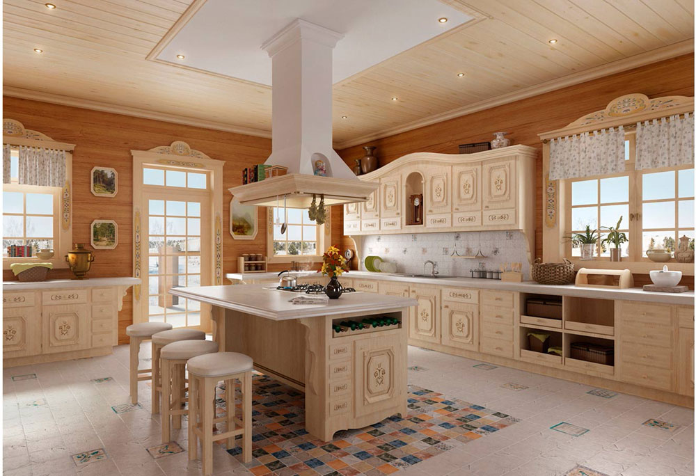 Vintage Kitchen Interior Design Examples (3)
