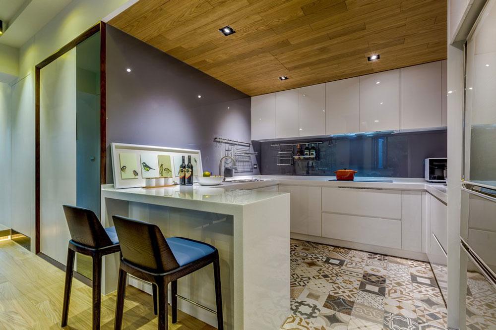 Apartment Kitchen Interior Design Ideas To Take As Example (8)