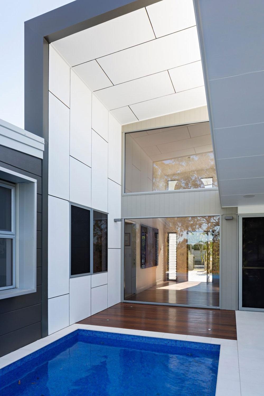 lovely australian house designed by studio 15b for a retired couple