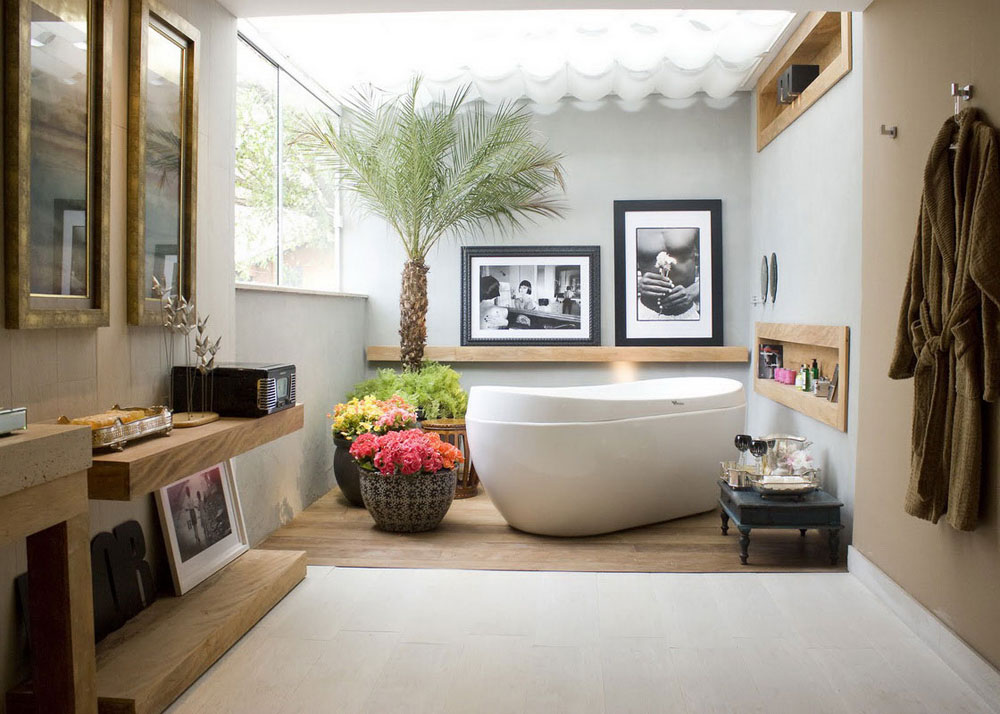 Bathrooms With Skylights That Will Make You Reconsider How You Design Them 5