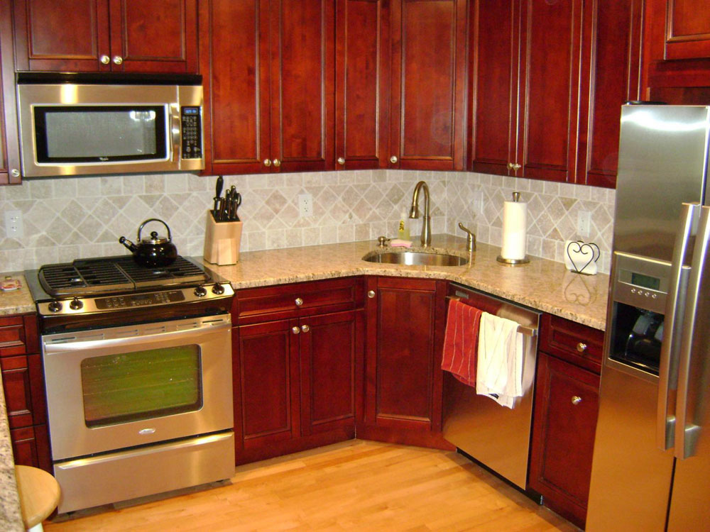 Very Small Kitchen Decorating Ideas