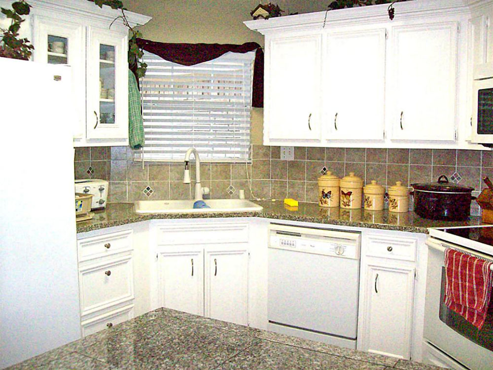 corner kitchen sink design ideas