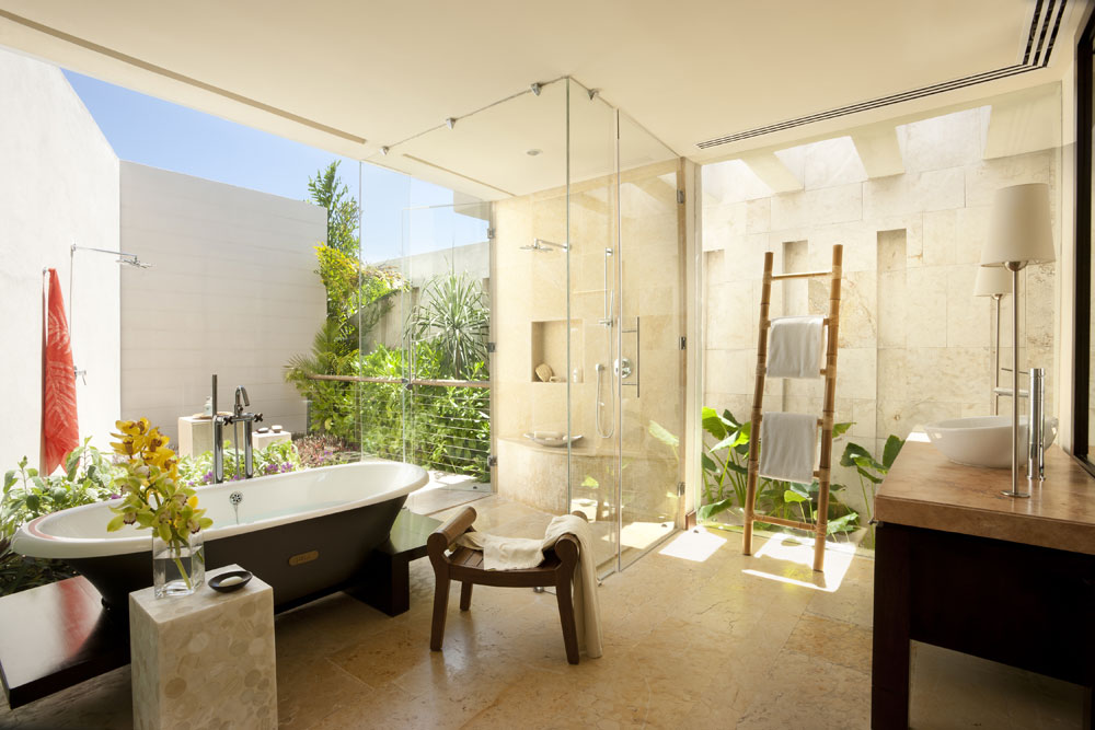 decorating your bathroom with lovely plants 1 decorating your bathroom - Decorating A Bathroom