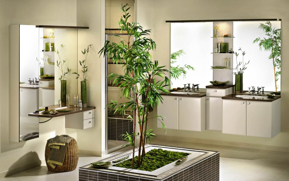 Captivating Decorating Your Bathroom With Lovely Plants 10 Decorating Your Bathroom