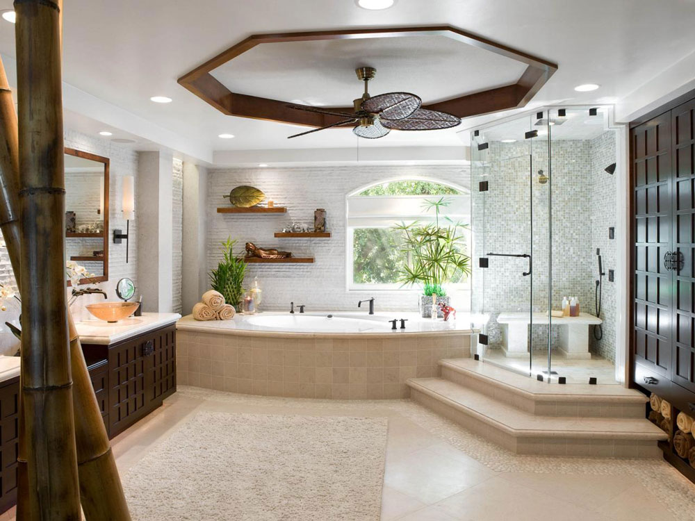 Decorating Your Bathroom With Lovely Plants 2 Decorating Your Bathroom