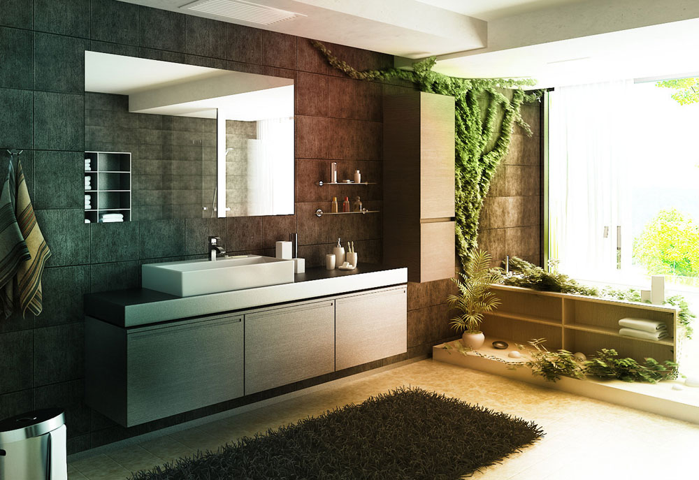 Lovely Bathroom Decoration bathroom lovely bathroom design ideas black and white on bathroom with black and white images of Decorating Your Bathroom With Lovely Plants 5 Decorating Your Bathroom