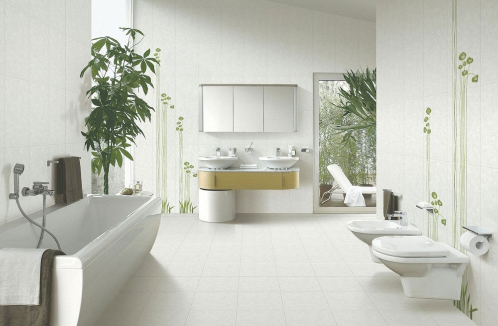 Decorating Your Bathroom With Lovely Plants 7 Decorating Your Bathroom