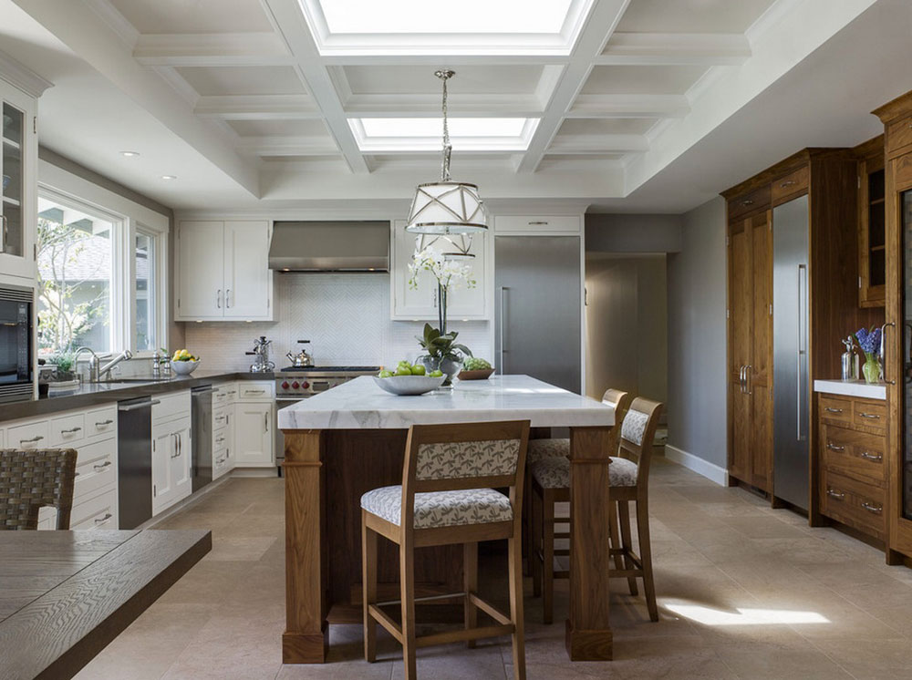 Kitchens With Skylights For More Natural Light 12 Kitchens