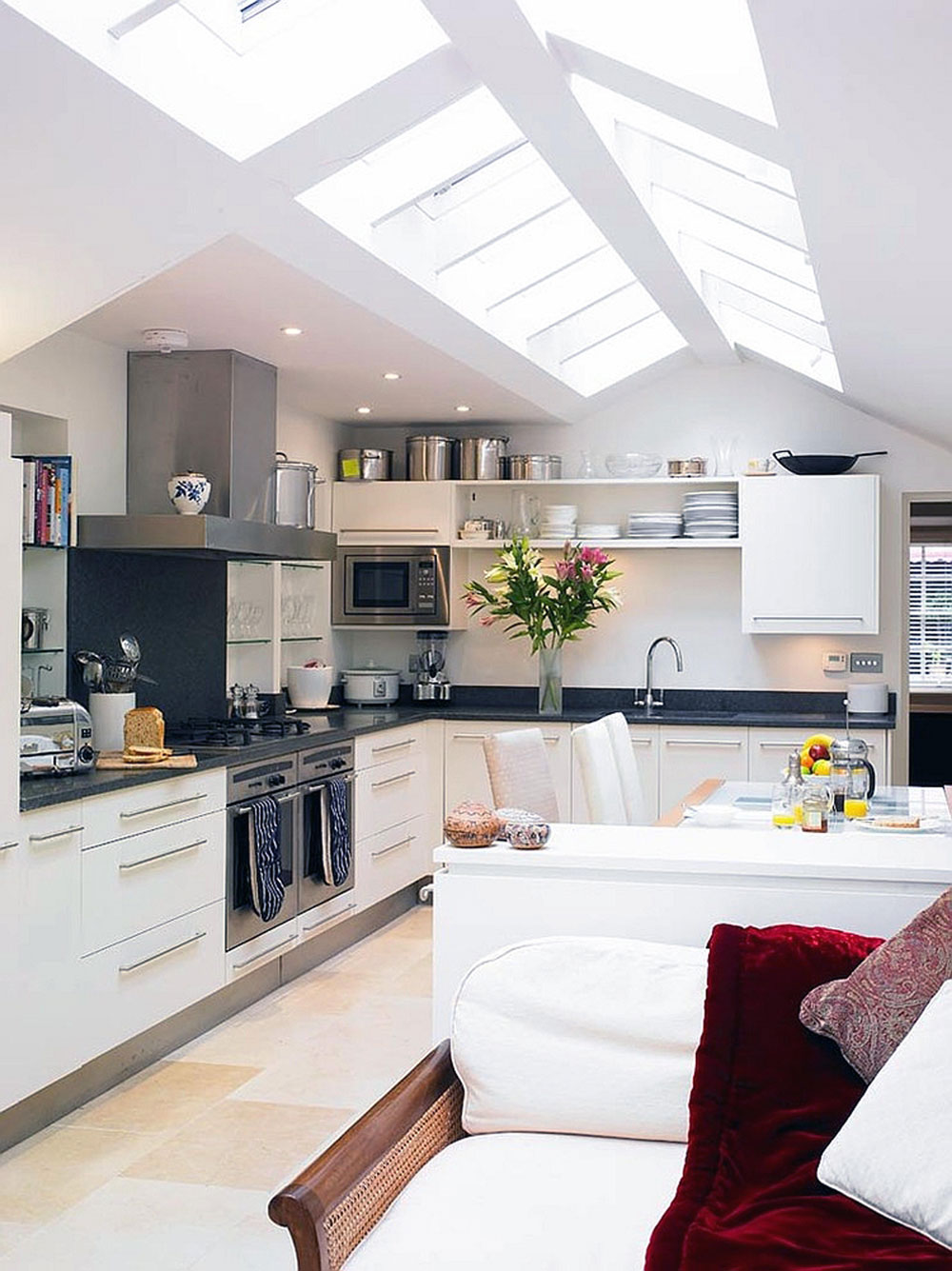 Awesome Kitchens With Skylights For More Natural Light 2 Kitchens Part 8