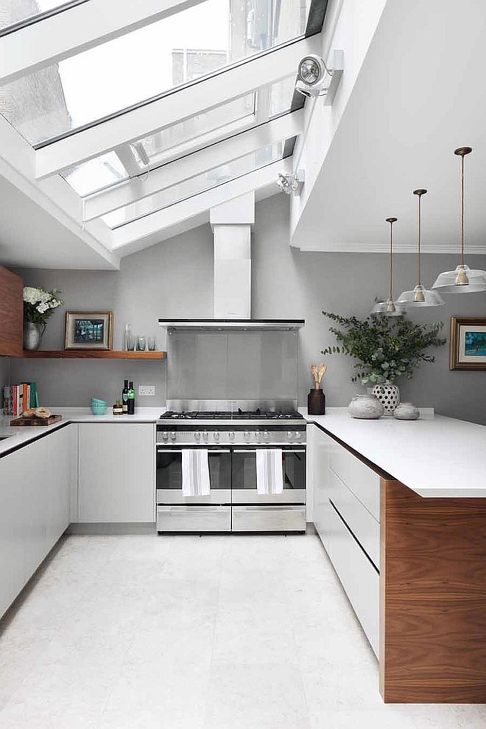 Lovely Kitchens With Skylights For More Natural Light 6 Kitchens Part 10