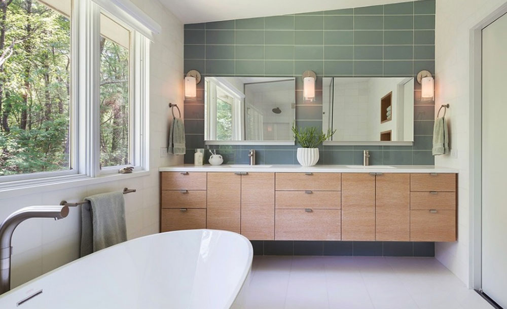 Bathroom Interiors looking for inspiration for modern bathroom interiors