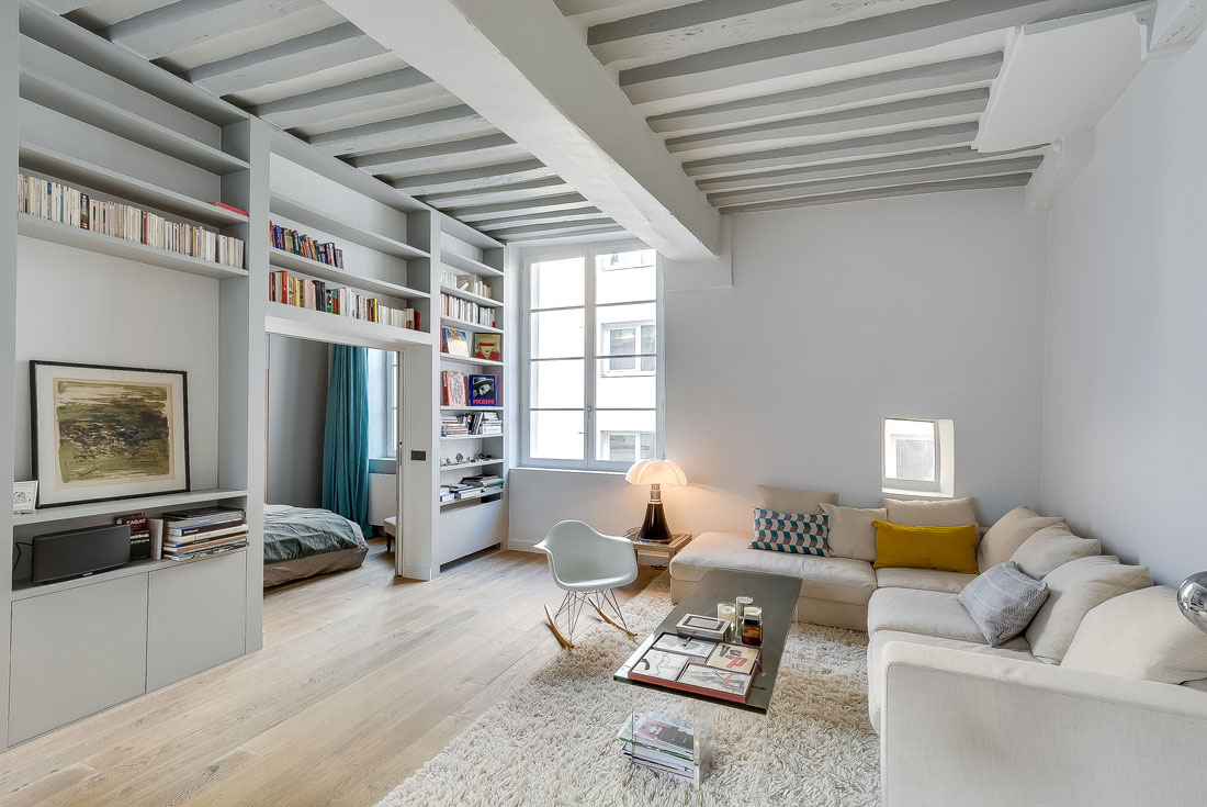 Modern Apartment In Paris Designed By French Interior Modern Apartment In Paris Designed By