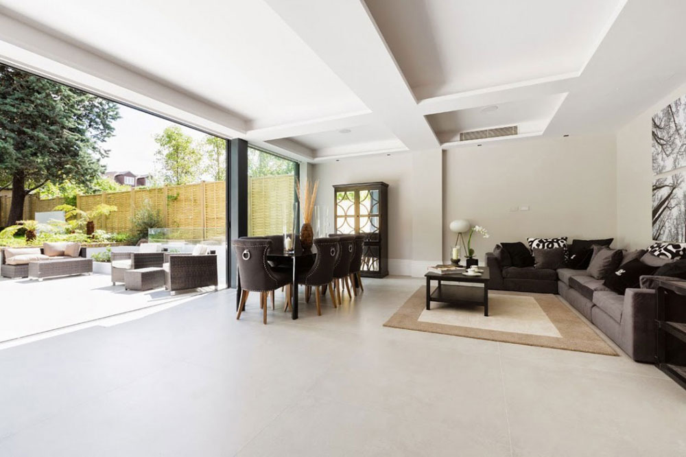 Modern English Home In Lonsdale Road Designed By Granit Chartered ...