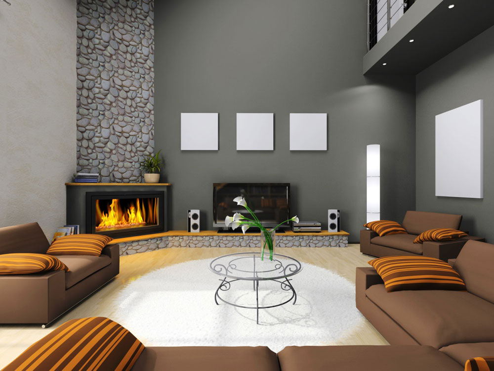 Living Room With Tv And Fireplace Design small living room with tv design ideas creditrestore intended for