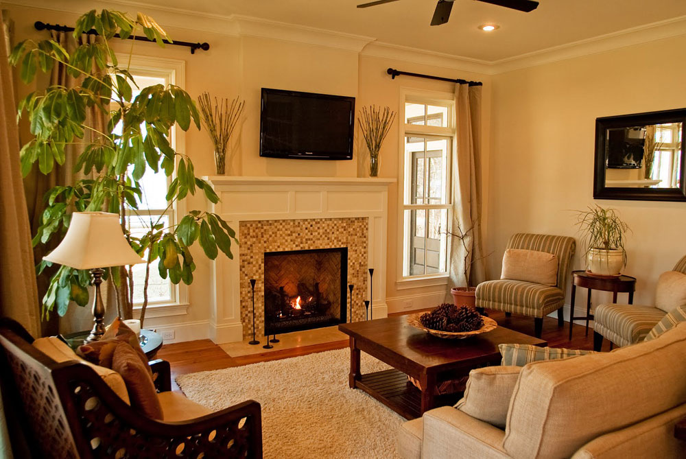 ideas for living rooms with fireplaces | My Web Value