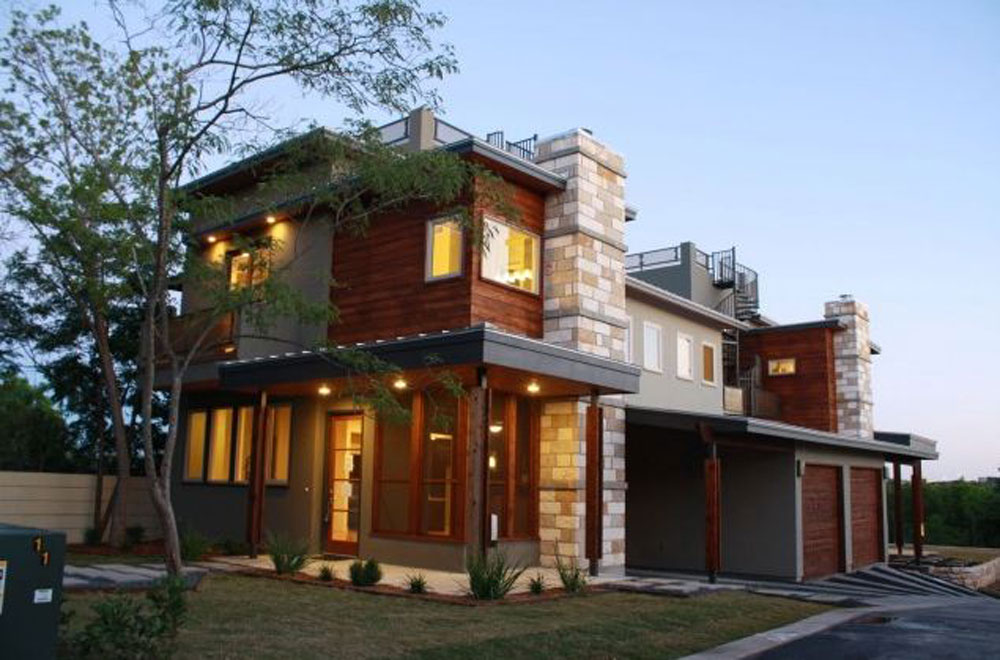 A Collection Of Modern Styles Of House Architecture