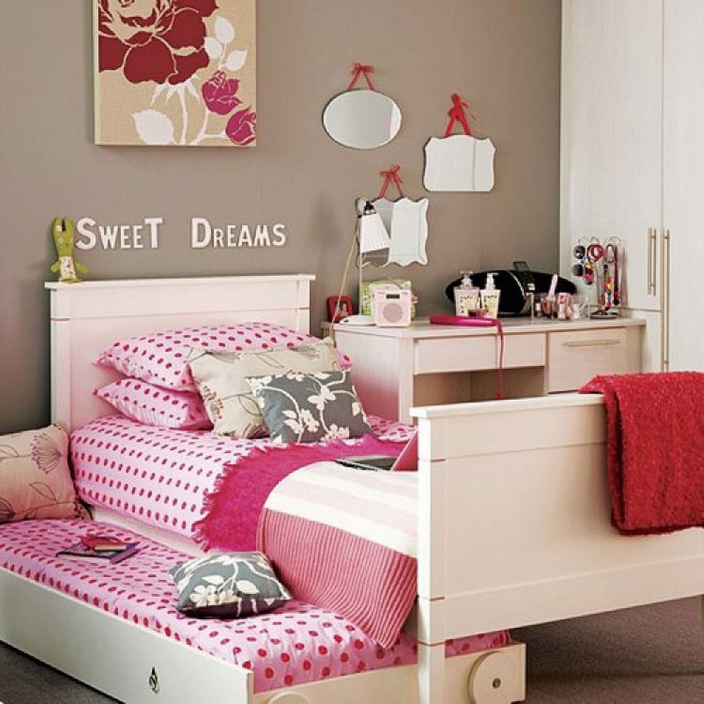 Polka Dot Bedroom Decor Decorating Your House Interiors With Polka Dots