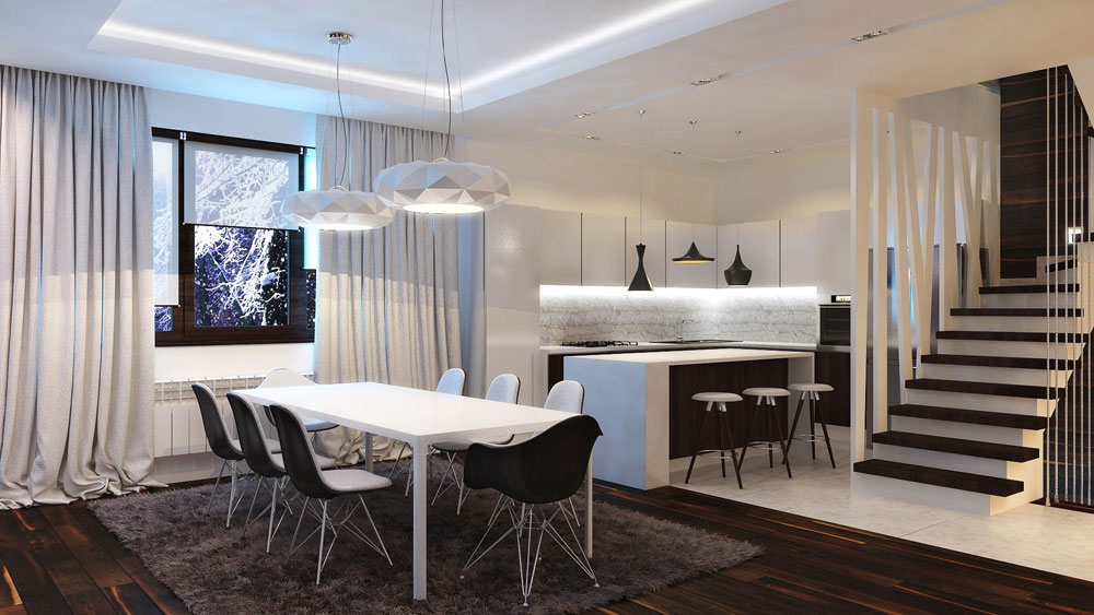 Dividing It Properly Creating An Open Plan Kitchen Design   Tips On Doing It