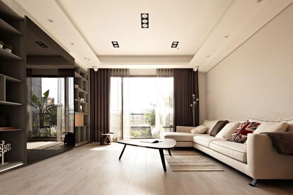 interior design for rectangular living room 9