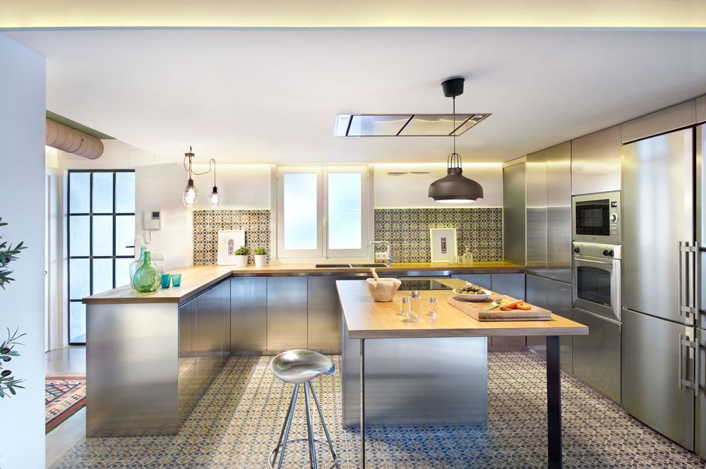Kitchen Interior Design For Flats To Create The