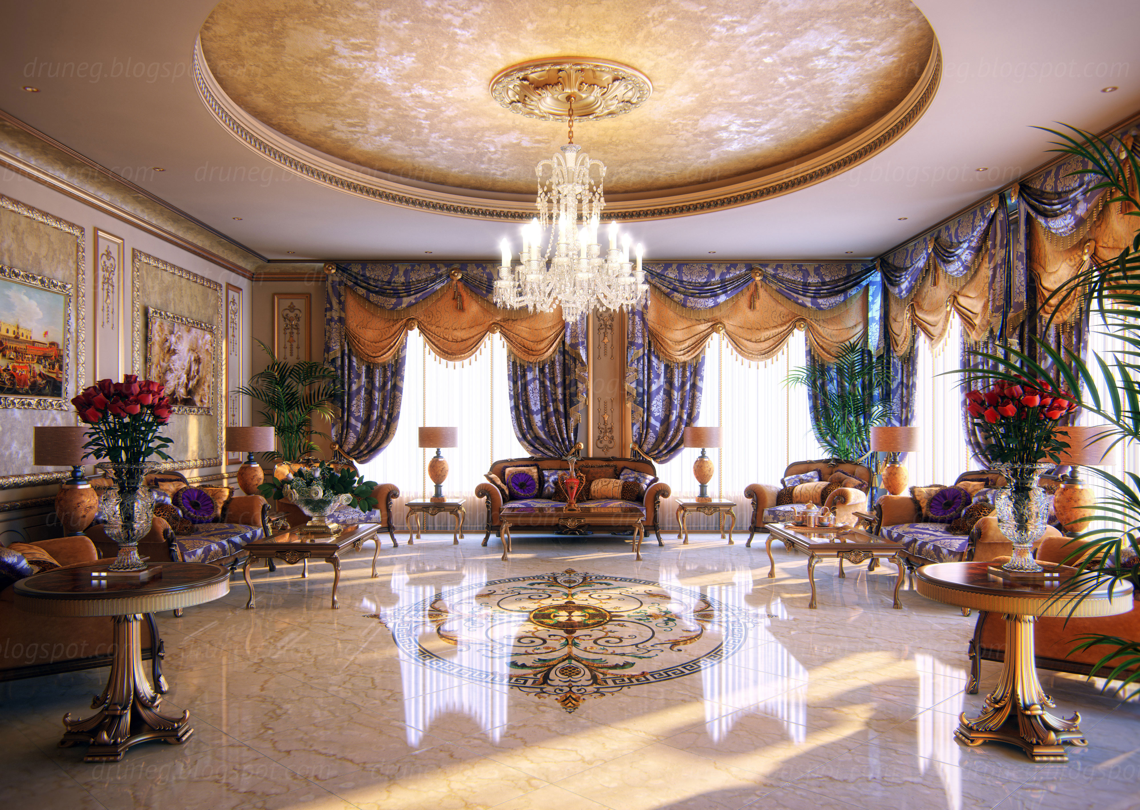 Lighting Arabic Interior Design, Decor, Ideas And Photos