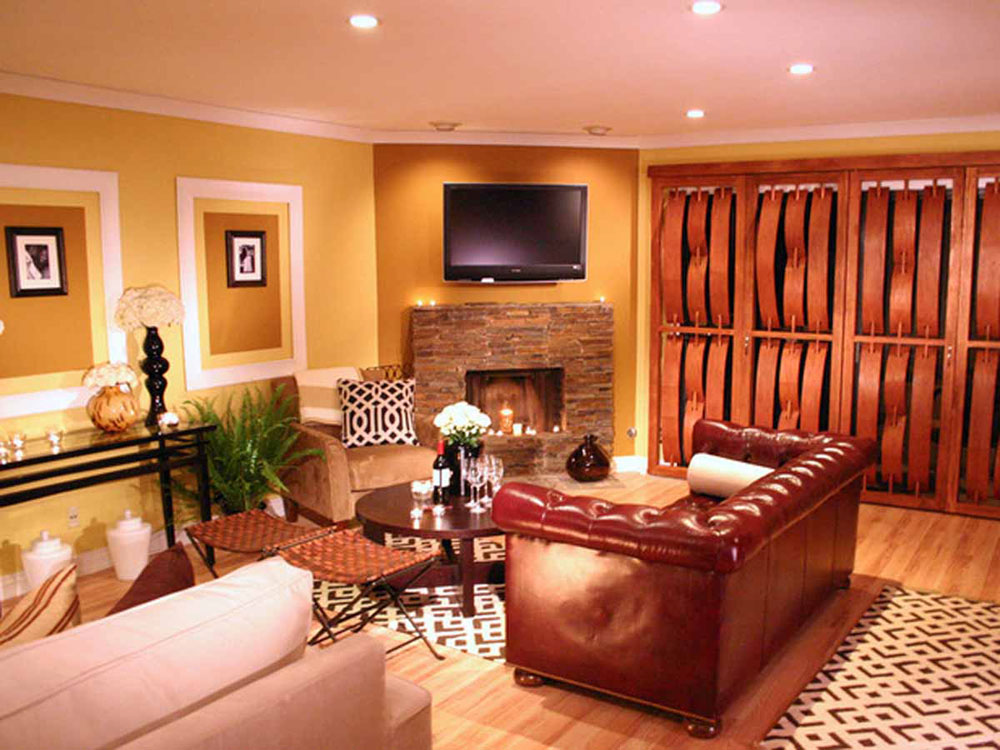 Living Room Interior Painting Ideas 10
