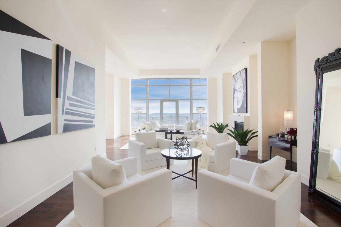 Luxury penthouse with amazing interior design 10 luxury penthouse with