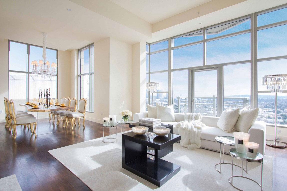 Luxury penthouse with amazing interior design 13 luxury penthouse with
