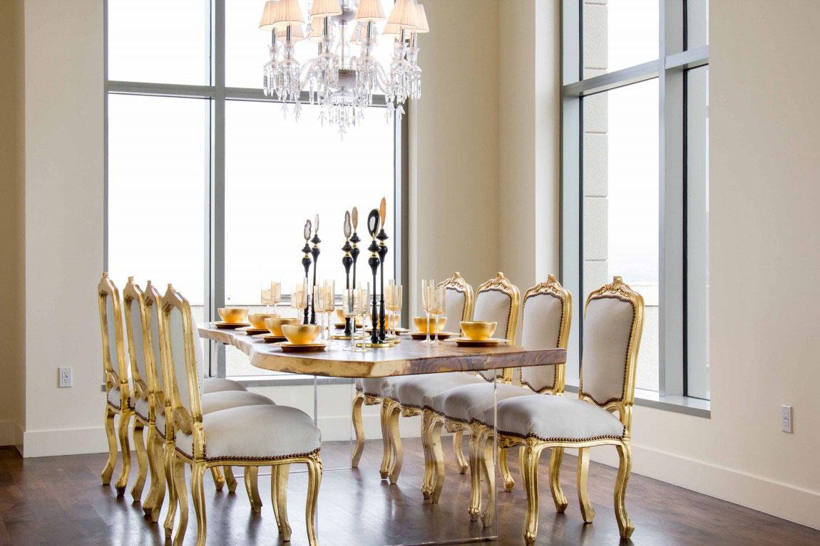 Luxury penthouse with amazing interior design 4 luxury penthouse with