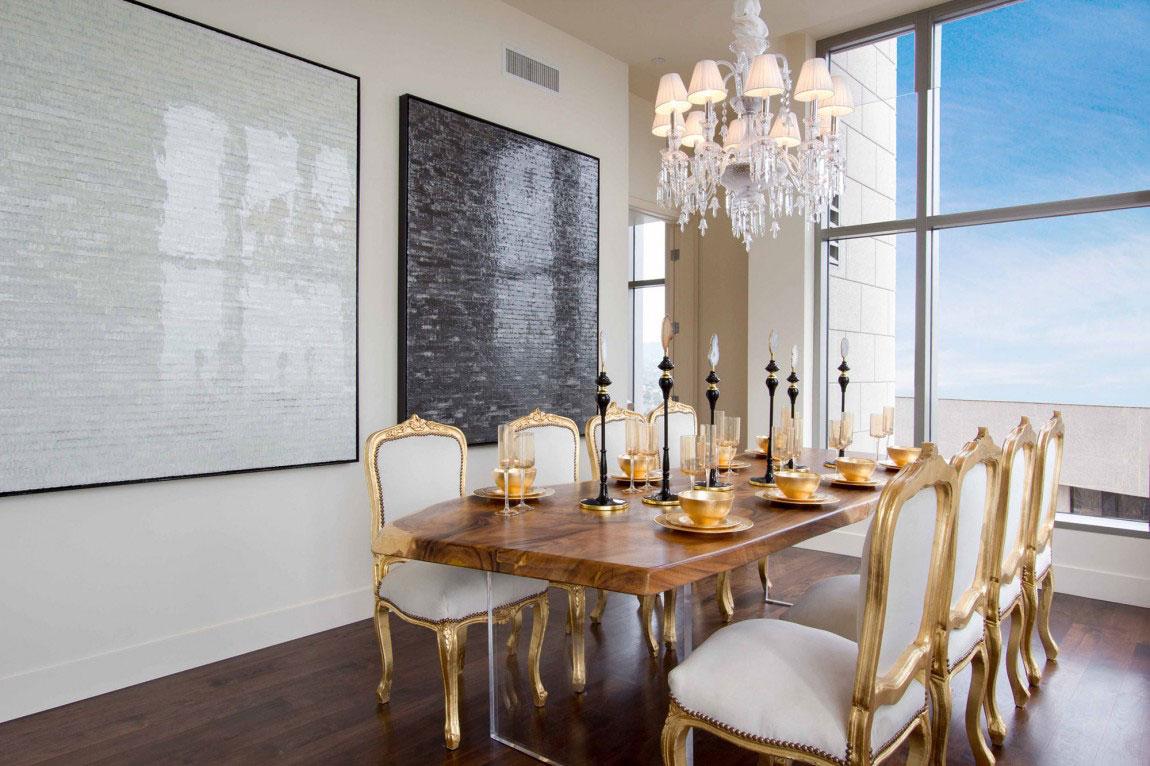 Luxury penthouse with amazing interior design 5 luxury penthouse with