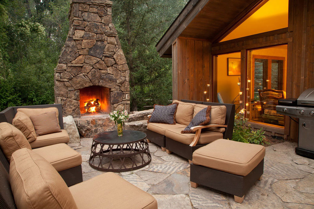 outdoor fireplace design ideas to pick from 10 outdoor - Outdoor Fireplace Design Ideas