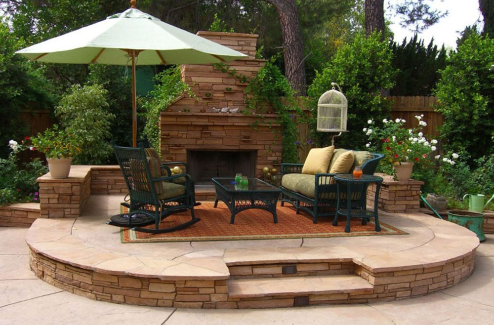 Delightful Outdoor Fireplace Design Ideas To Pick From 2 Outdoor