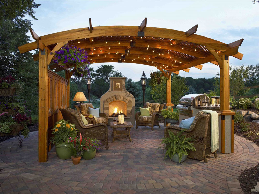 Outdoor Fireplace Design Ideas outside fireplace design ideas outdoor fireplace attached to house Outdoor Fireplace Design Ideas To Pick From 6 Outdoor