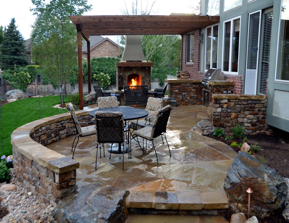 Outdoor Fireplace Design Ideas To Pick From 7