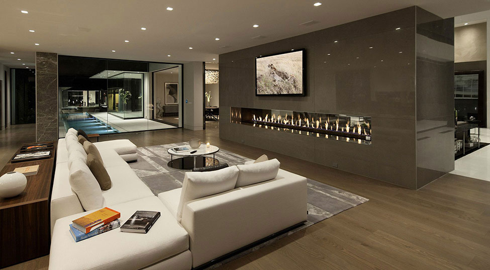Sunset Strip Residence 3 Houses With Beautiful Architecture And Interior  Design By McClean