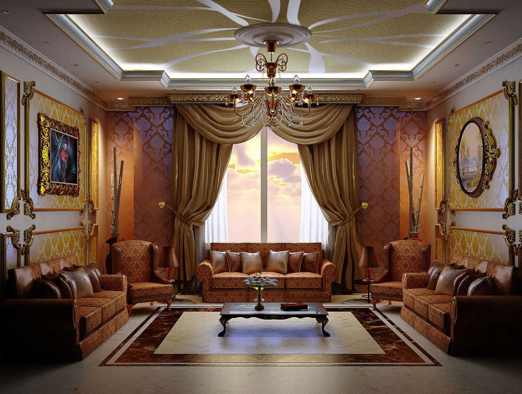 Colour Arabic Interior Design, Decor, Ideas And Photos