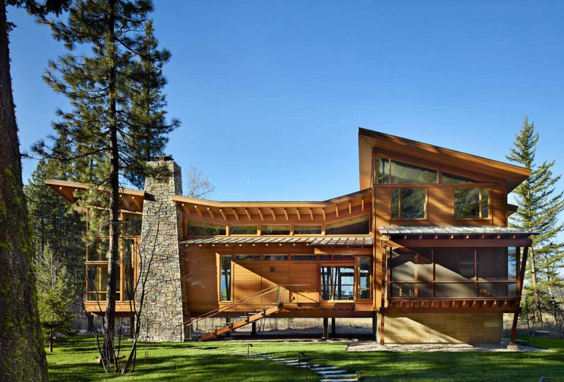 The Mazama House A Home Of Unique Design