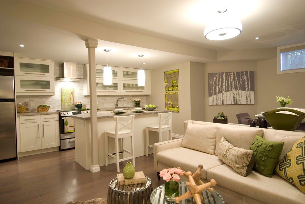 Use The Same Colors In Your Open Space Creating