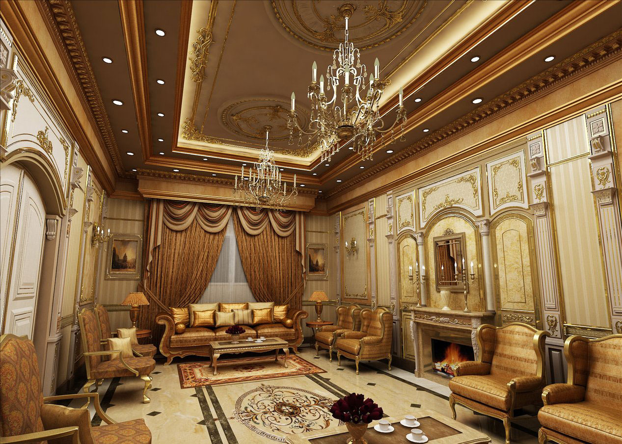 Arabic interior design decor ideas and photos for Arabic living room decoration