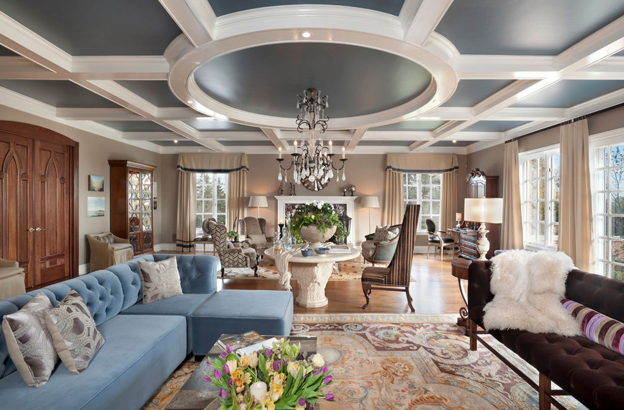 How To Make Your Ceiling Look Taller