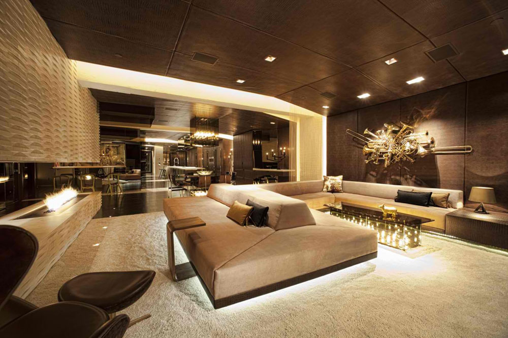 contrast rhythm in interior design definition