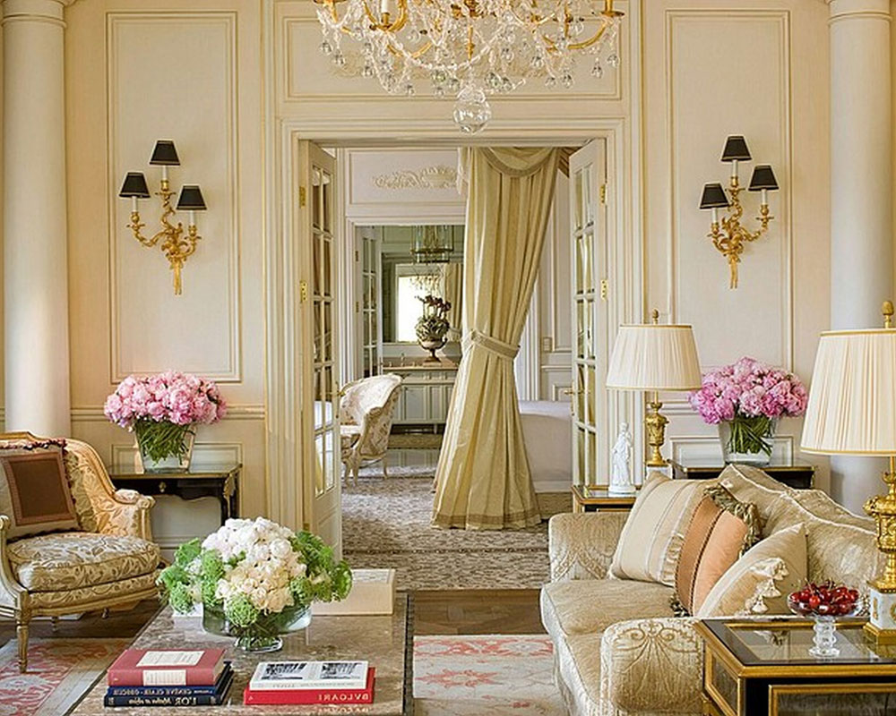 French interior design ideas style and decoration for Decorations for a home