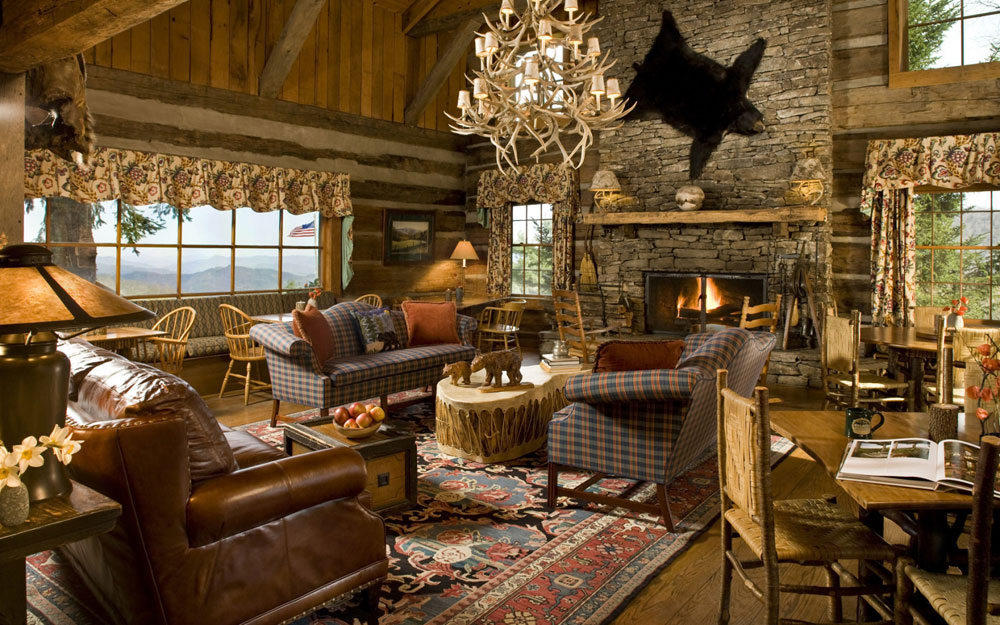 Ideas-For-Decorating-A-Rustic-Interior-Design-9 Ideas & Ideas For Decorating A Rustic Interior Design