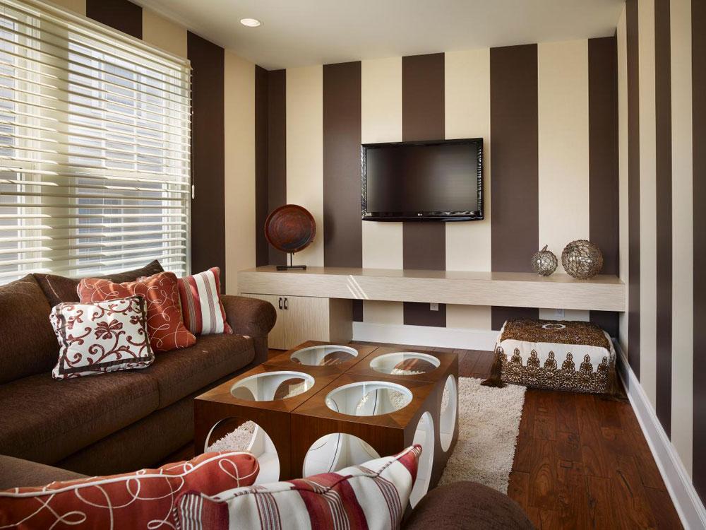 Striped Living Room Centerfieldbar Com