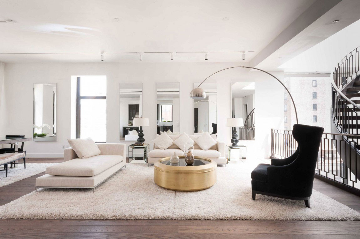 Luxurious Contemporary Penthouse Designed By Delos