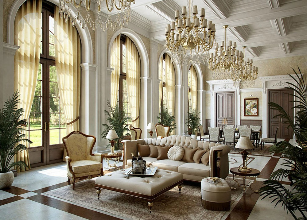 Beau Marble Victorian Interior Design: Style, History And Home Interiors